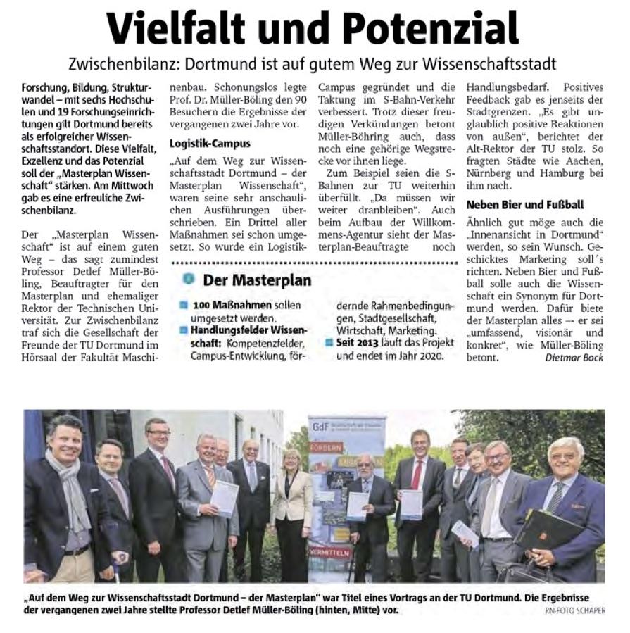 Press 2015_06_12 Ruhrnachrichten Vielfalt und Potenzial