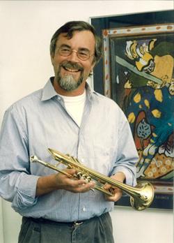 Klaus Neuvians mit Fluegelhorn