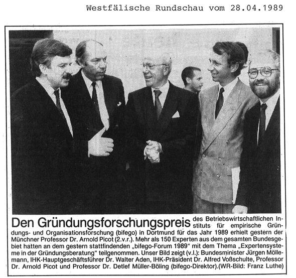 1989_04_28 WR Gruendungsforschungspreis