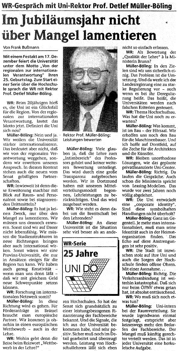 1993_11 WR Im Jubilaeumsjahr nicht ueber Mangel lamentieren