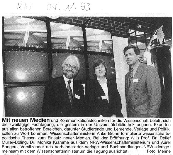1993_11_04 RN Mit neuen Medien