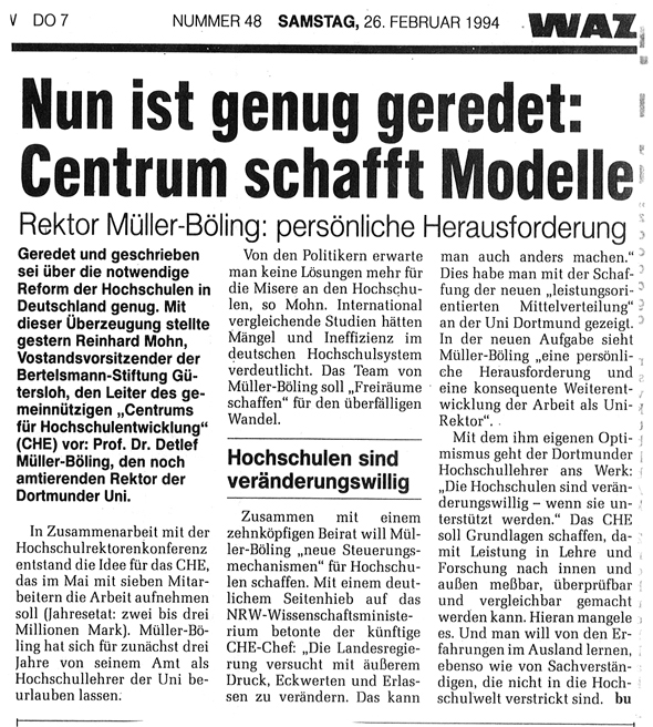 1994_02_26 Nuni ist genug geredet Centrum schafft neue Modelle